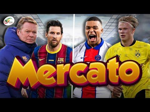 Le Real lâche l'affaire pour Haaland et Mbappé.. La confidence de Koeman sur Messi | R. Mercato