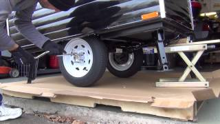 Time Out Deluxe Motorcycle Camper Assembly