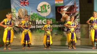 Vanakkathin..Tamil Classical Group Dance by MCH Girls @ MCH Onam2015