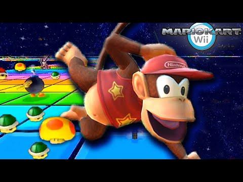 Mario Kart Wii MEGA 32-Track Item Rain Grand Prix!