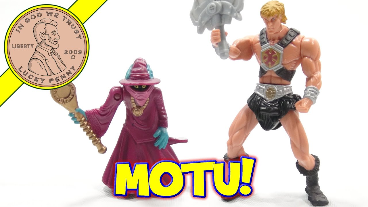 Masters Of The Universe McDonald\'s 2003 Happy Meal - YouTube