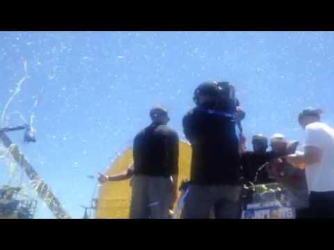 Stephen Curry Slaps Five With Zennie62 At Warriors Rally - Zennie62