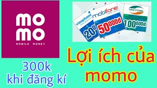 | Kiếm Tiền Online 2020| Những LỢI ÍCH tuyệt vời của ví MoMo- Kiếm tiền trên MoMo