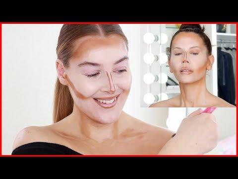 I TRIED Following Scott Barnes Makeup Tutorial On Tati Westbrook | J Lo's Ma