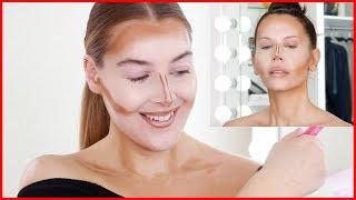 I TRIED Following Scott Barnes Makeup Tutorial On Tati Westbrook   J Lo's Makeup Artist