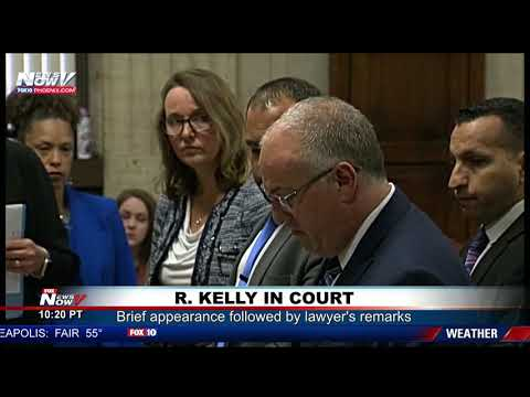 Bill Cunningham - VIDEO: R. Kelly's Lawyer Says He's Illiterate