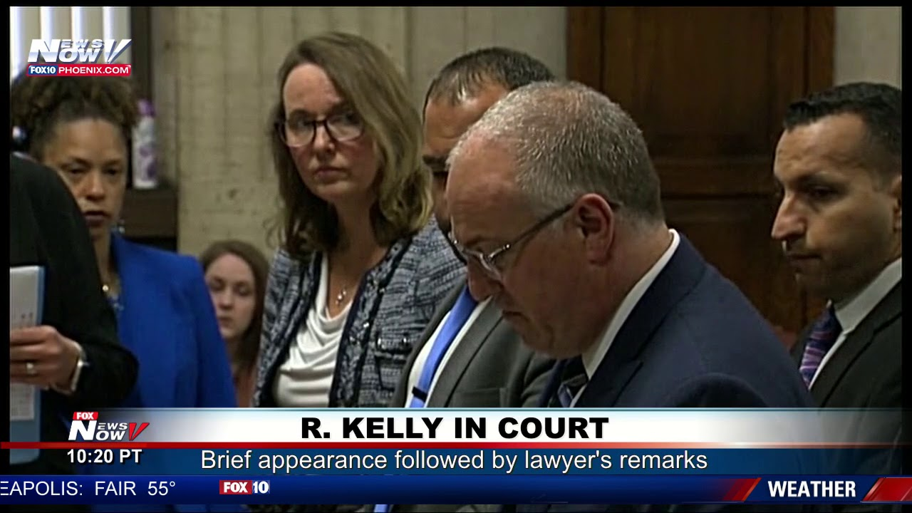 Download FULL COURT COVERAGE: R. Kelly makes sex-abuse case appearance, lawyer talks