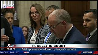FULL COURT COVERAGE: R. Kelly makes sex-abuse case appearance, lawyer talks