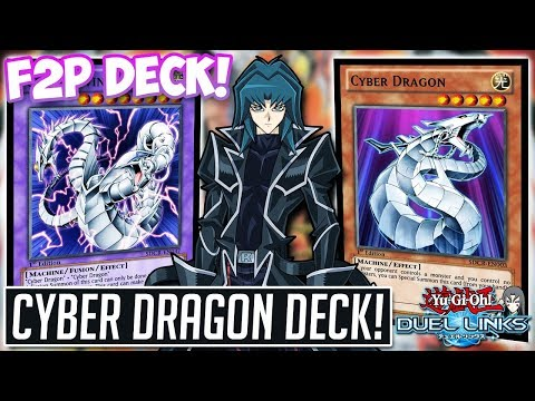 Free To Play Cyber Dragon DECK! CYBER TWIN DRAGON ACTION