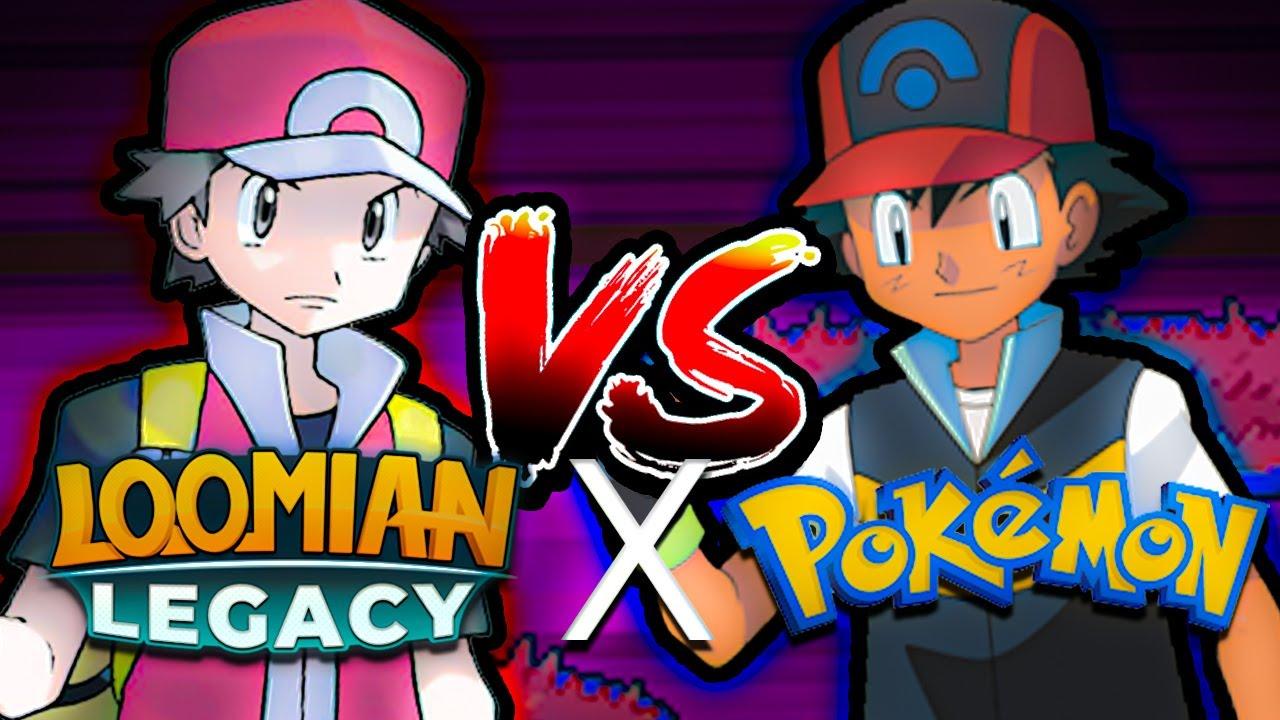 Ash VS Red Loomian Legacy BATTLE!!