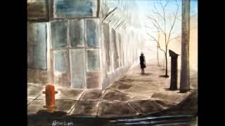 She walked alone