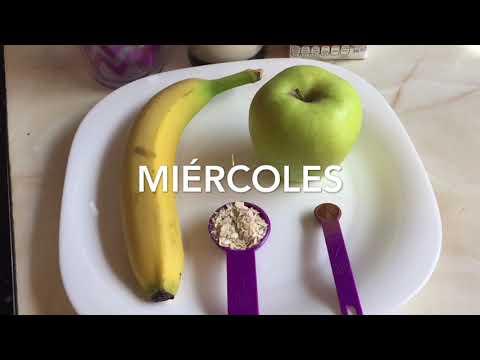 Plan de dieta de plátano de 7 días para bajar de peso