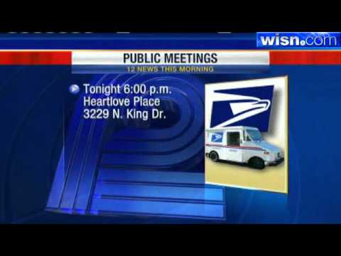 Meeting On Milwaukee Post Office Closings Tonight