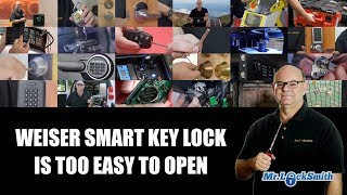 Kwikset / Weiser Smart Key Lock is Too Easy to Open | Mr. Locksmith Video