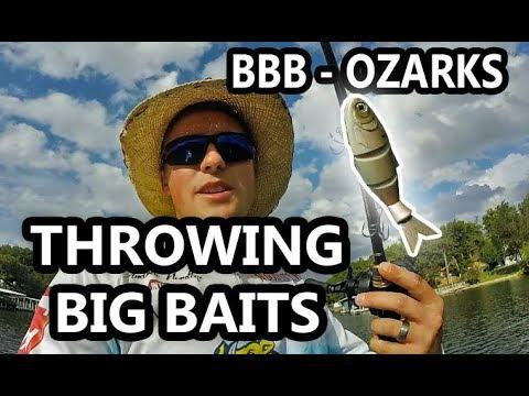BIG Bass Bash - Huge Baits For GIANT Bass - Lake Of The Ozarks 2018