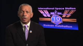 Administrator Bolden – 10 Years Aboard the ISS