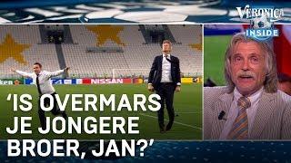 Johan ziet buikschuiver Overmars: 'Is dat je jongere broer, Jan?' | VERONICA INSIDE