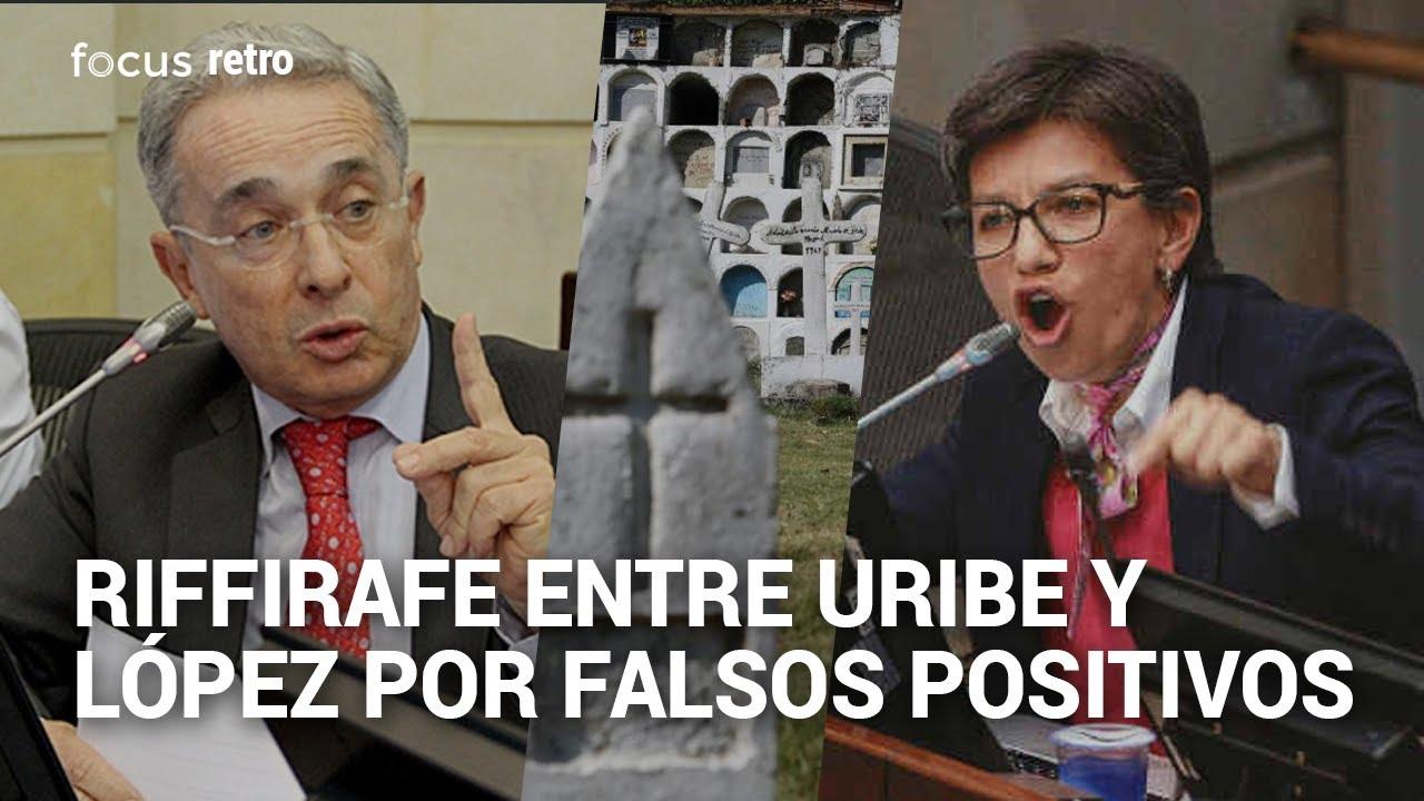 El rifirrafe entre Álvaro Uribe y Claudia López por falsos positivos