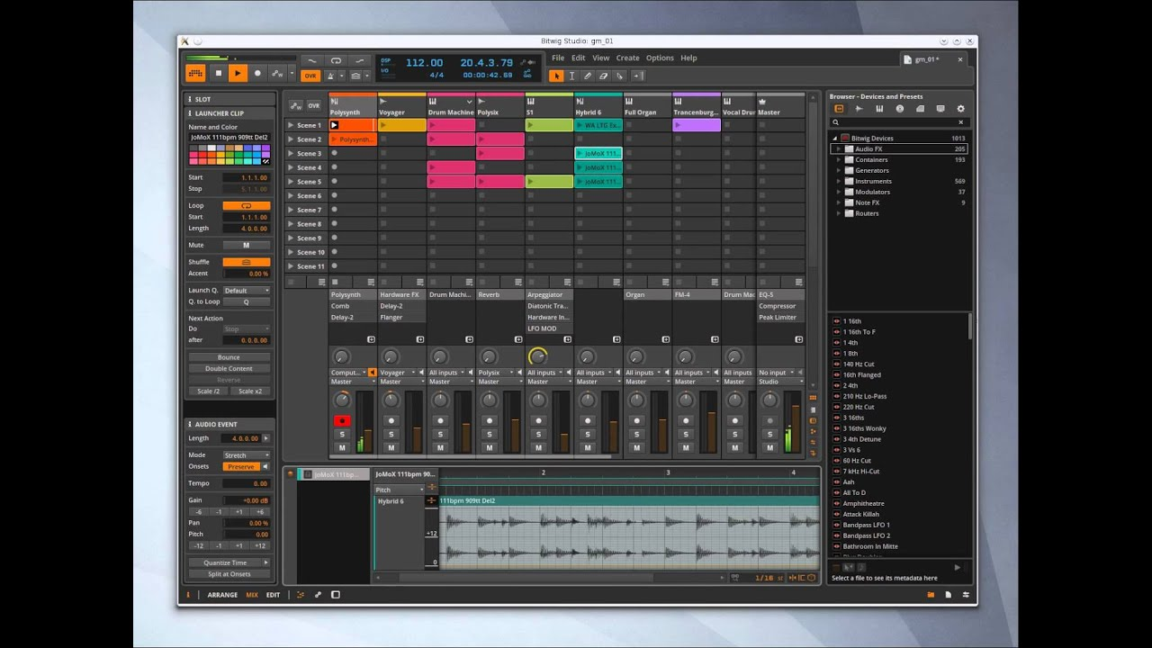 Linux has an Ableton Live Alternative in Bitwig Studio! Also, I rant