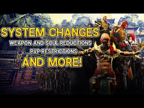 Blade and Soul - Huge Weapon + Soul Cost Reductions (System Changes)