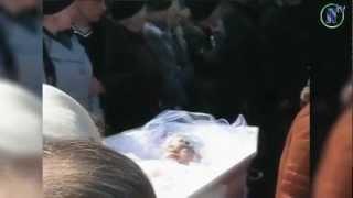 Похороны Оксаны Макар. Грустные кадры!