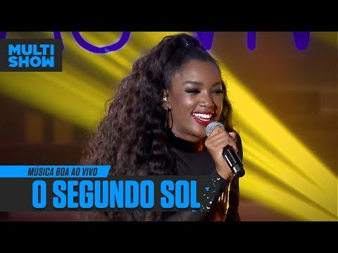 "IZA canta ""Segundo Sol"" de Nando Reis  Música Boa Ao Vivo  Música Multishow"