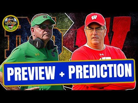 Notre Dame vs Wisconsin: Preview + Prediction (Late Kick Cut)