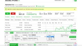 How to buy & sell options W/ TD Ameritrade (4mins)