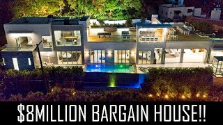 MILLION BARGAIN HOLLYWOOD MANSION!