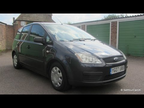 SOLD - 2007 Ford C-Max 1.8 Manual, 73500mls, 3 owner, Full History, MOT, TAX, Good Condition