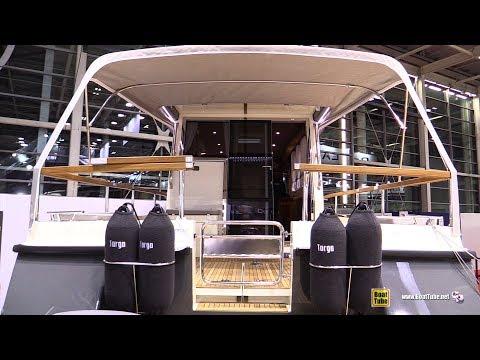 2017 Targa 37 Motor Boat - Walkaround - 2016 Salon Nautique Paris