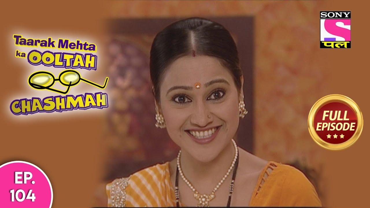 Taarak Mehta Ka Ooltah Chashmah - तारक मेहता का उल्टा चश्मा - Episode 104 - 13th July, 2020