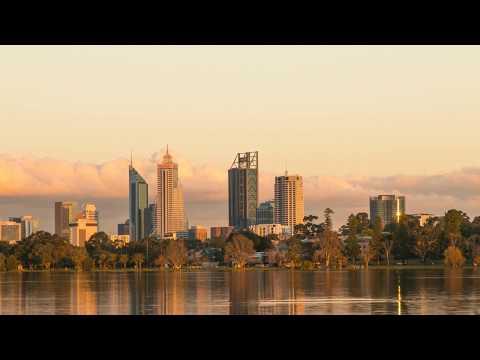 Perth Skyline | 4K Time lapse