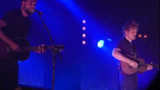 Ed Sheeran and Passenger - My Heart's On Fire (live @ DOCKS in Hamburg, 06.03.12) HD