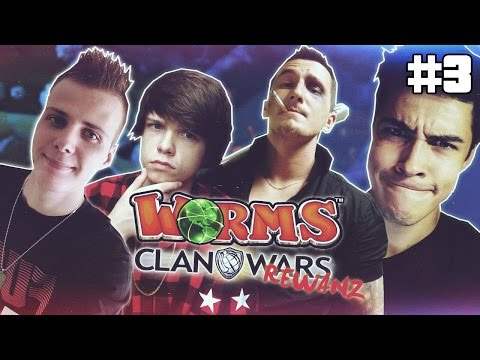 S03E03 WORMS CLAN WARS: IsAmU vs reZi vs MULTI vs NITRO (REW!)