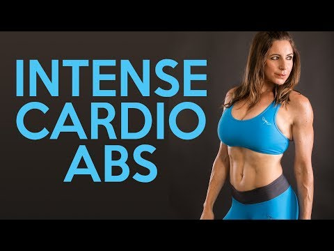 Intense Cardio Core Workout with Dani | Belly Fat, Abs, HIIT, At Home Fitness for Beginners