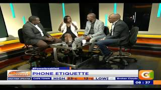 Power Breakfast: Phone Etiquette in Relationships
