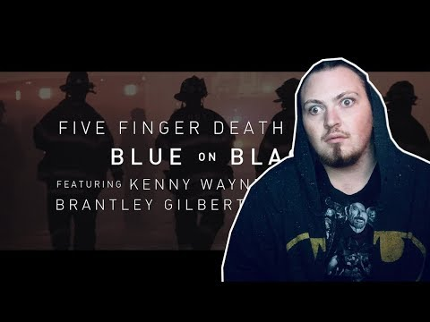 Five Finger Death Punch - Blue On Black (feat. Kenny Wayne Shepard) | REACTION