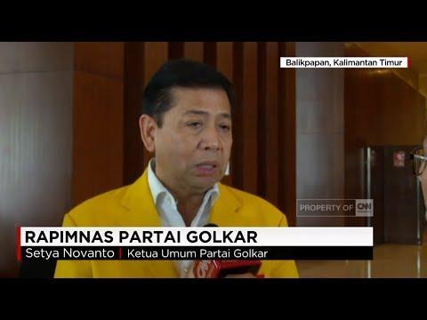 Setnov: Golkar Akan Usung Jokowi Di Pilpres 2019