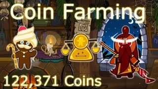 Cookie Run Coin Farming with General Jujube Cookie  (122,371 Coins!)