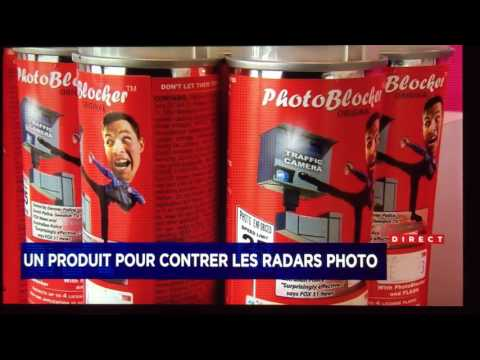 Vaporisateur pour contrer les radars photo - Zéro Ticket - Le Photo Blocker Spray