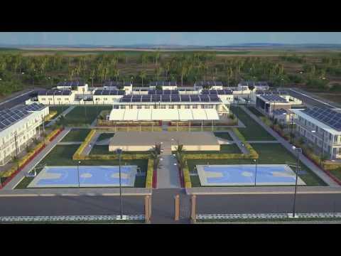 Media Renderings - 3d architectural walkthrough for Hula School Campus