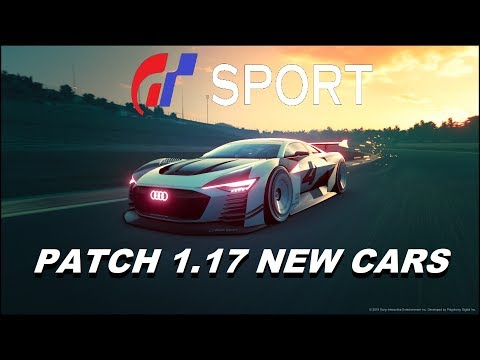 GT Sport Patch 1.17 Audi Vision Gran Turismo Cars thumbnail
