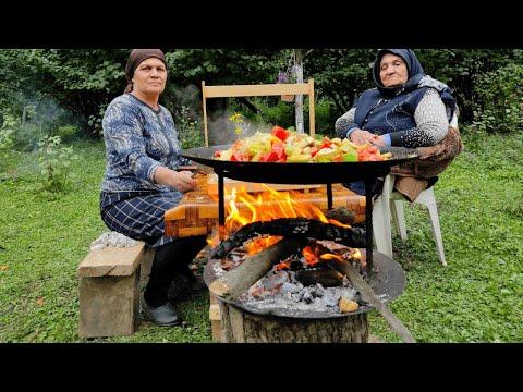 Аджапсандал из Овощей со Своего Огорода, Азербайджанская Кухня