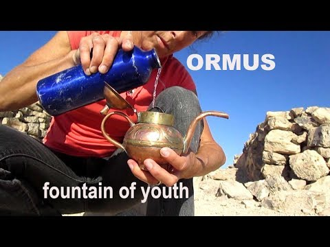 Come Drink ORMUS With Me - The FOUNTAIN OF YOUTH