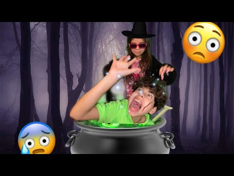 ISAAC VS THE EVIL WITCH |