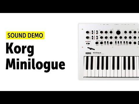 Korg Minilogue Sound Demo (no talking)