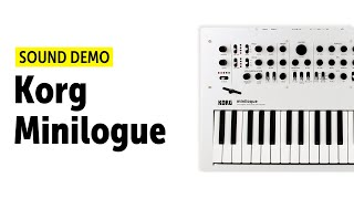 Korg Minilogue Sound Demo (no talking) - Electronica, Ambient and Techno Patches