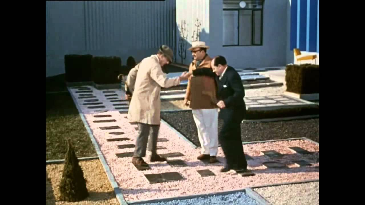 jacques tati mon oncle trailer youtube. Black Bedroom Furniture Sets. Home Design Ideas