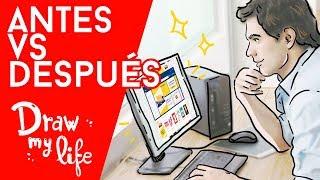 Cosas que hacías ANTES y AHORA NO - Draw My Life en Español